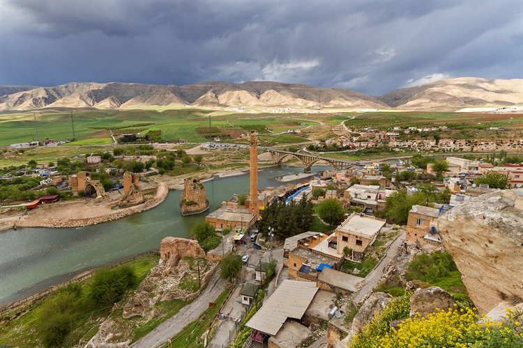 historische stad badman turkije